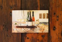 Publication and Print Design / Champagne marketing and graphic design for Fat Cork