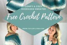 Crochet sweaters & jerseys