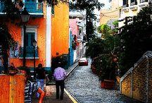 The Isle of Enchantment - In blues, oranges & yellows / Puerto Rico:  Isla Bonita  / by Sandra Rodríguez