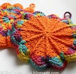 Crochet- Potholder, Baskets, Washcloth, Rugs, Placemats, etc... / by Laura Cole