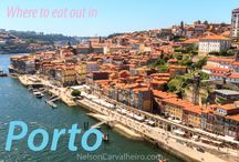Eat & Drink in Porto / Learn all about the most amazing restaurants and bars in Porto, as well as some awesome dishes you can get in the city!