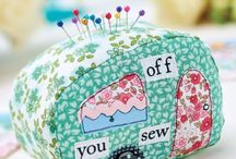 Pin Cushions / Sewing and Crafts
