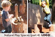 Natural play space outside / by Kelsea Miller