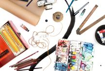 Art materials and stationary