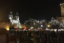 Christmas markets Prague 2015 / Christmas markets, christmas tree - Prague Old Town Square 2015