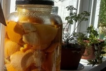 Orange/Vinegar household cleaner