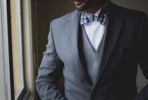 Noivo gravata borboleta