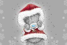karácsonyi teddy