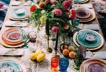 Eclectic table