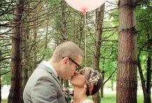 Pink Balloon Wedding Photo Prop