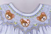 Smocked dresses / #smockeddress #puntosmock # abbigliamentobambini