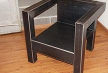 fauteuil metal