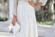 Loose White Dresses / Loose White Dresses