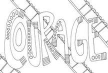 Zentangle Text