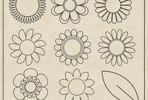CU Digitals: Doodles & Line Art / Visit CUdigitals.com for Commercial Use ( CU ) digital scrap paper, template, element mix, graphic scrapbooking art design and DIY craft projects.  #photoshop, #digiscrap, #digitalscrapbooking, #CUDigitals,