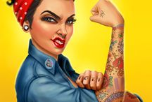 Pinup tattoo