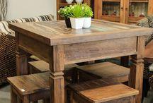 mesas pequenas