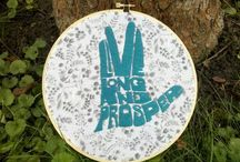 You keep me in stitches / Mostly cross stitch, a few other random needlework pieces (I'm only mildly obsessed, I swear)