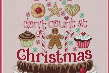 Cross-stitch Christmas