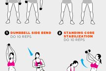 ab dumbbell swings
