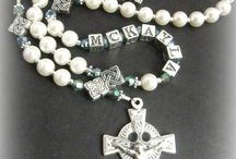 Personalised First Communion Rosary