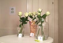 Valentinstag Blumenversuch