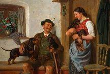 Art - Adolf Eberle (1843-1913)