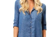 Button Down Beauty / Button Down Shirts are all the rage this season.  They are sexy, smart and take you from day to night