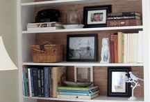 Book shelf styling
