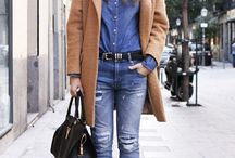 Chambray, Denim and Camel