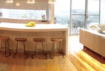 Open living and dinning / Open Kitchen and living for a family of six