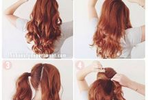 Tutorials for hair
