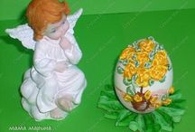 Easter decorations-Eggs / by Dorota Wrona