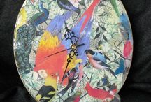 ArtCollage By Fiona / I am a paper collage artist and I create my collages on a variety of objects made from glass, wood and styrofoam. I am inspired by beautiful images – I just want to take these images and make them my own by creating my collages. I want people to feel happy when they look and touch my work.