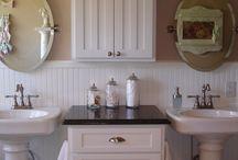 Bathroom renovation / by Kim Williams