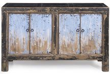 Stylish sideboards / Oriental sideboards from Shimu's collection, both newly handcrafted and antique.