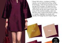 Dress colours