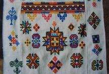 Traditional Mien embroidery