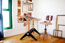Art Studio / by Quirky Girl Crafts