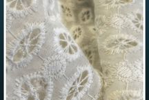 Chikan Embroidered Fabric - 2