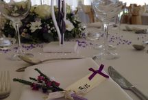Favour ideas and place settings