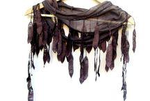 ❂  Enrolados ❂ / Echarpes , mantas , estolas .