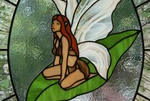 Stained glass panels / Fairy