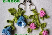 All about Crochet Flowers / Flowers made by crocheting