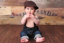 6 month photo ideas / by Katie Wagner