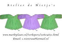 Atelier de Nietjes / https://www.facebook.com/DeNietjes voor originele   en goedkope kinderkleding .