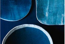 Smitten Magazine Shoot / dark and dreamy: blues, grays, drama, luxe texture, velvet, contrast and shadow