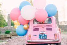 Hochzeitsfahrzeug / Brautautos und Autodeko