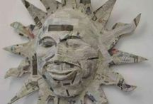 Art - Paper Mache / by Valerie Jobe