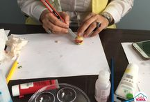 Selsal School / Some photos from Selsal School workshop   #polymerclay #learn #workshop